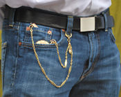 double albert chain with spring ring (pants)